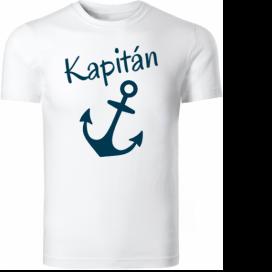 Námořnická trička: Tričko na vodu Kapitán