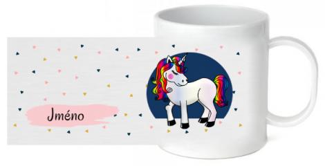 plastový hrnek pro dítě Unicorn