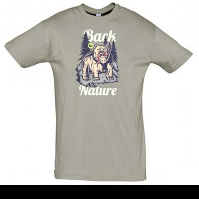 Tričko pro cestovatele a dobrodruhy Back to Nature