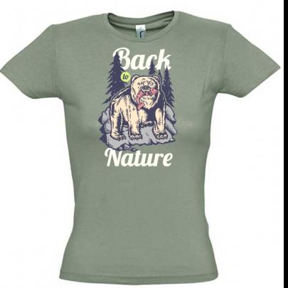 Dámské tričko Back to Nature