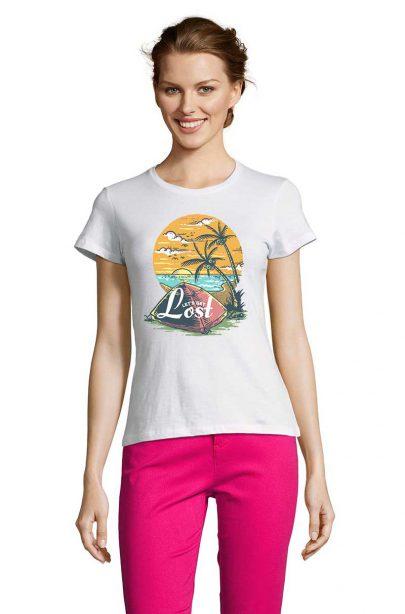 Dámské tričko Lets Get lost