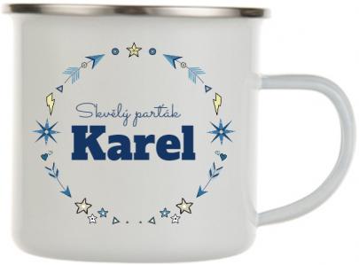 Plecháček se jménem Karel