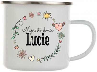 Plecháček se jménem Lucie