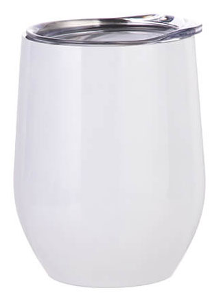 Bílý termohrnek na svařené víno