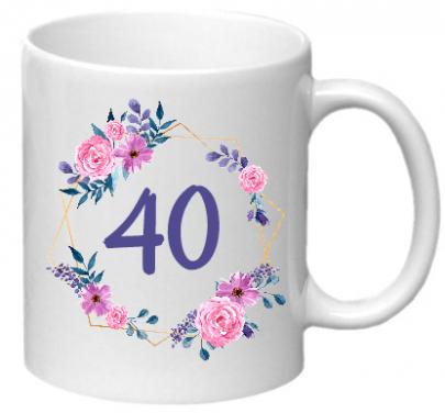 Hrnek ke 40. narozeninám