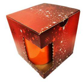 Vánoční krabička na hrnek