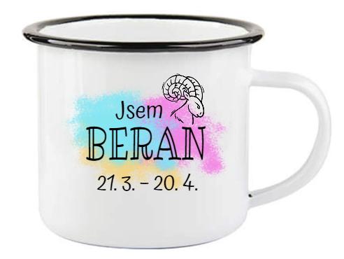 Plecháček se znamením zvěrokruhu Beran