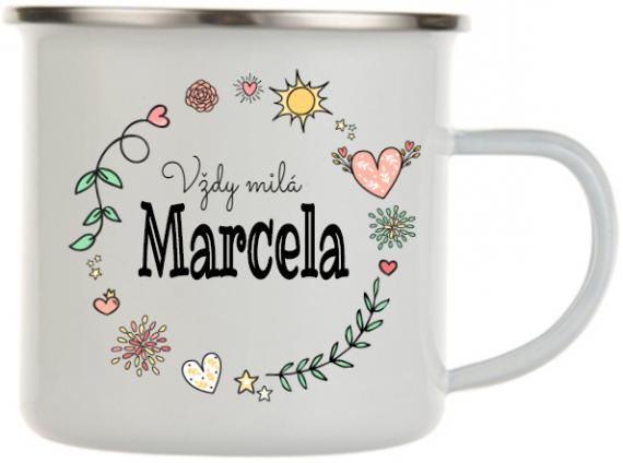 Plecháček se jménem Marcela