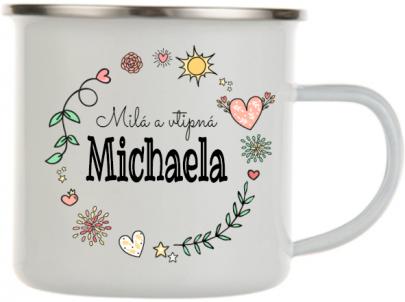 Plecháček se jménem Michaela