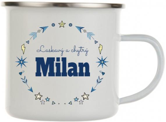 Plecháček se jménem Milan