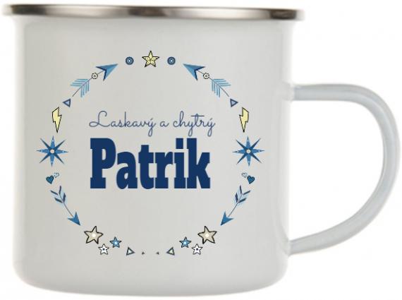 Plecháček se jménem Patrik